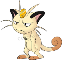 Meowth by Cocotato
