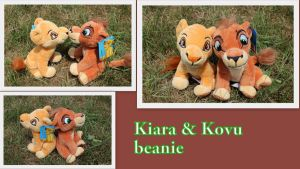 Kiara and Kovu beanie by Laurel-Lion
