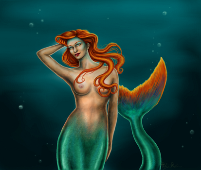 The Mermaid by MyWorld1