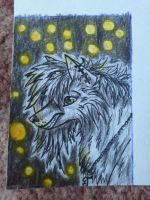 .::ACEO Trade with Cally-dream::. second card by Snowstorm-wolf