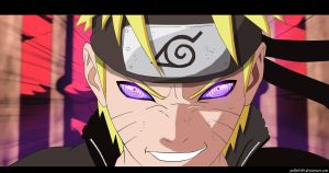 Uzumaki Naruto Rinnegan by pollo0389