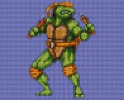 Lego Michelangelo by drsparc