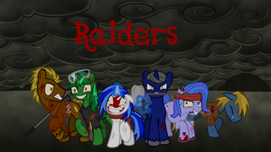 Fallout Equestria Raiders wallpaper by hunterz263