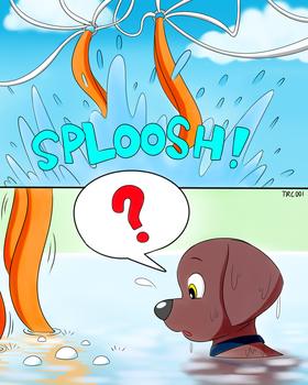 Paw Patrol - Tracker Visits His Friends - 5 by trc001