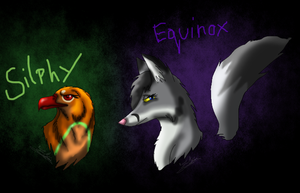 Join.me Request: Silphy and Equinox by ScottishRedWolf