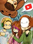 Youtubers Again by LittleMissZKits