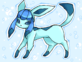 Glaceon by Basy-chan