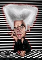 Jim Jarmusch caricature by ziggy-q