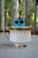 Tea cup monster by Eatmyblackcancer