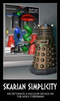 Devious Daleks by madaigual