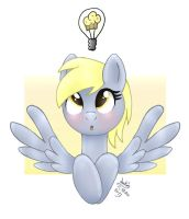 MLP FIM - Derpy Idea by Joakaha