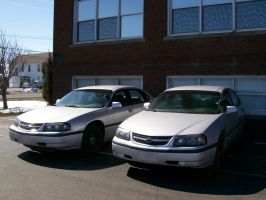 Retired Chevy Impalas by LDLAWRENCE