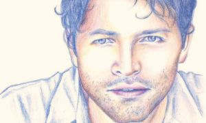 Misha Collins - tricolored by B-Keks