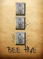 Bee Hives by ladnamedfelix by ladnamedfelix