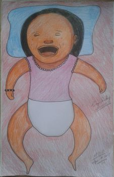 The crying baby by adrian154