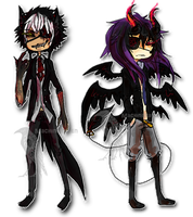Halloween Adopts Auction 2 [CLOSED] by MachineRaven
