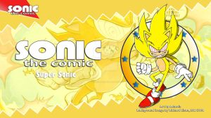 Sonic the Comic : Super Sonic by adamis