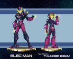 MMRedesign: DLN-008 Elec Man by AdamWithers