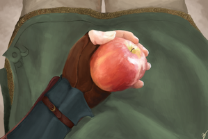 Link and that apple from Hyrule Castle Town by sheiktxt