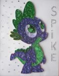 Quilling - Spike by Sszymon14