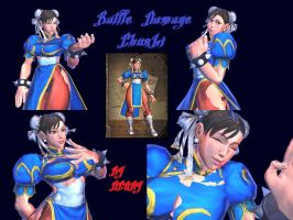 SFXT Battledamage Chun-li by dcory