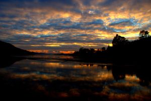 Tamar Estuary Sunset 4 by jonnyXbrainless