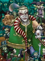 Kefka and Friends by gateapparel