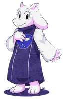 Toriel it's still best mom, goat mom that is! by NkoGnZ