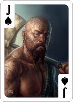 Jack of Spades by d-torres