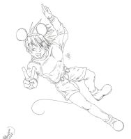 Goten Mouse by BobsCookie