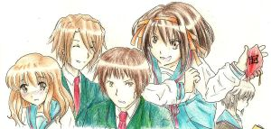 LET'S BOTHER KYON by dAurelie