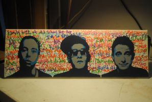 Beastie Boys on Graf / Spraypaint and Paint Pens by Joshfryguy