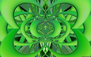 Green Pastel Wide by VickyM72