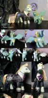 MLP-HP: Nacissa + BabyDraco 3D by witchcraftywolfen