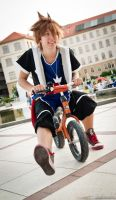 Kingdom Hearts.- Cosplay. Sora by remismile