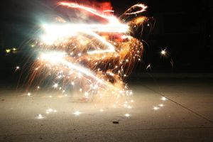 Sparklers by punx777