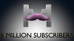 8 Million Subscribers (GIF) by kyon003