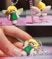 Sparkly Tink Necklace by IvrinielsArtNCosplay