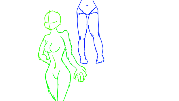 Some Pose Tests by AdamAnimationz