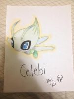Pokemon : Celebi~ by animelover287