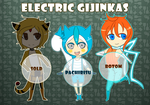[Electric Type] - Adoptable Gijinkas by Alth-Io