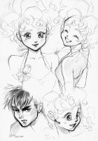 Juni Sho Sketches by Naschi