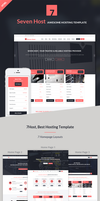 Seven Host - Hosting HTML Template by BonanzaZone