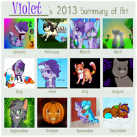 2013 Summary of Art by VioletKat-214