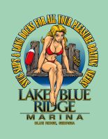 Lake Blue Marina by obxrussell