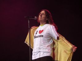 Weird Al Loves Bacon by elooly