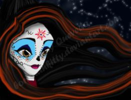 Day of the Dead by BoricuanKitty