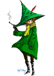 Snufkin by crystal-meths