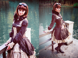 Steampunk Doll - Autumn pt.5 by UselessDevice