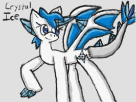 Crystal Ice Concept Art by SurgeCraft